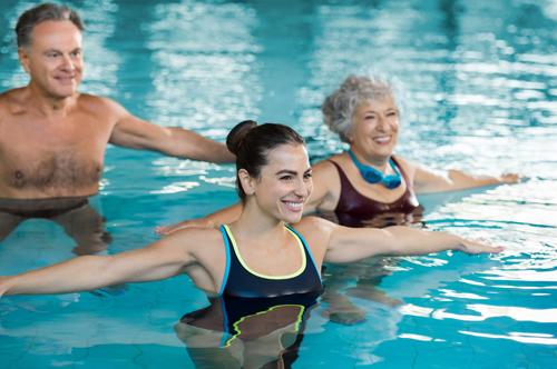 Aquagymnastik für Jung und Alt