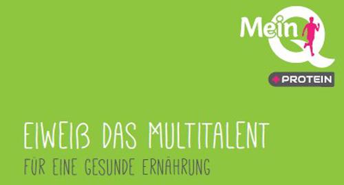 Entwicklung einer MeinQ-Eiweiss-Broschüre