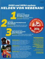 Mera Care Award Aufruf in Dogs