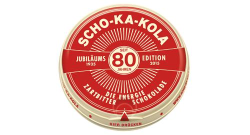 Jubiläum Schokakola, Jubiläums-Dose, Jubiläums-Verpackung, Jubläums-PR, Uhlig Pr