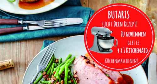Beim Butaris Rezeptwettbewerb Kitchenaid gewinnen