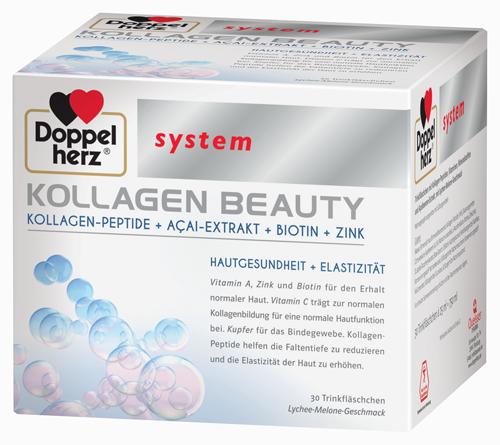 Doppelherz Kollagen Beauty für Hautgesundheit + Elastizität