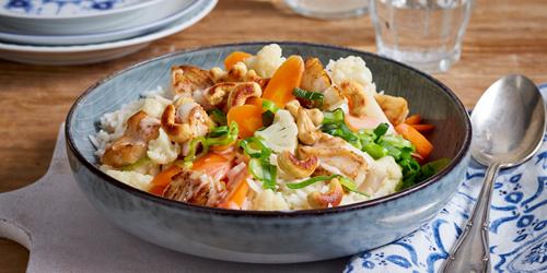 Rezept Fisch-Gemüse-Ragout mit Kokosmilch
