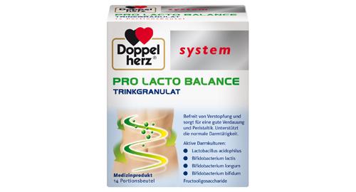 Packung Doppelherz system Pro Lacto Balance Trinkgranulat