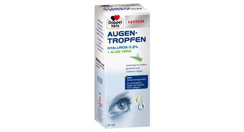 Augenprodukt mit Hyaluron von Doppelherz