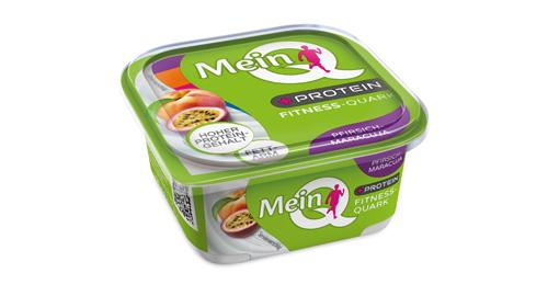 MeinQ Fitness-Quark Pfirsich-Maracuja